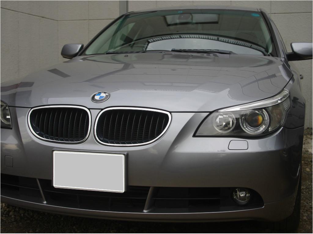 コダマックスのヘッドライトリフレッシュ-BMW