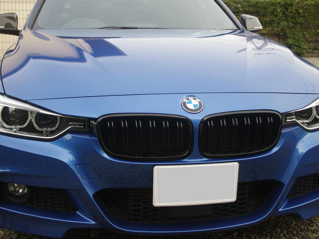 FotorCreated 1 - 【BMW】気になるヘコみをガラスリペアと一緒に直せるなんて