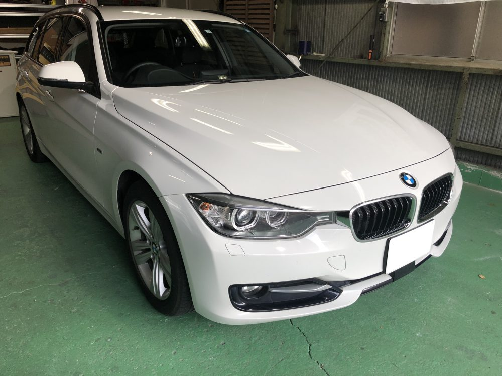 IMG 8378 1 e1527661072818 - 1時間以内で終わってしまうデントリペアの修復力|BMW