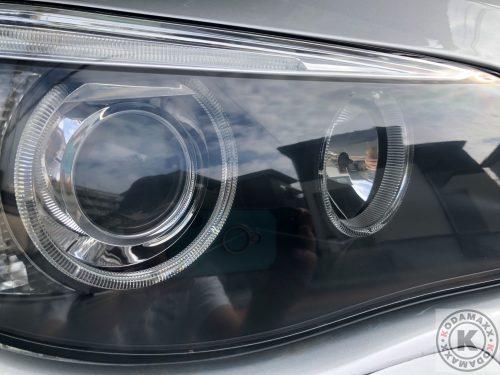 BMW E91ヘッドライト磨き