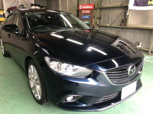 IMG 4281 1 - 【アテンザ】【デミオ】新しめなマツダ車のヘッドライト磨き