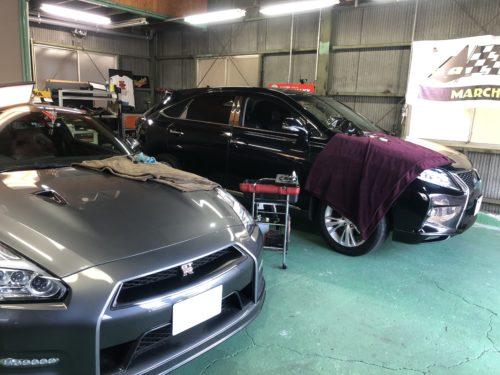 IMG 4524 1 - 国産高級車は安心のガラスリペア専門店へ