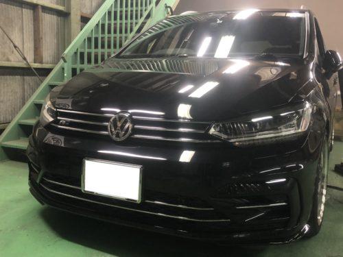 IMG 9986 - 【トゥーラン】VWのドアパンチをデントリペアで修復