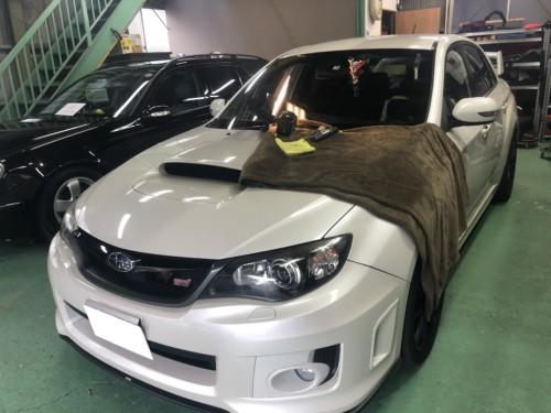IMG 1417 1 - スバル車のフロントガラスリペア・飛び石修理