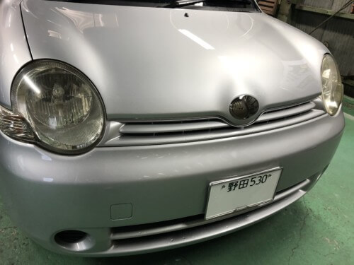 IMG 5466 1 - 【シエンタ】丸目のヘッドライトクリーニング