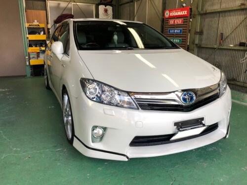 IMG 5901 1 - 【SAI】【プリウス】HV車のヘッドライトクリーニング