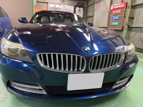 IMG 3251 1 - 【BMW/Z4】E89 劣化したヘッドライトはクリーニングでリフレッシュ