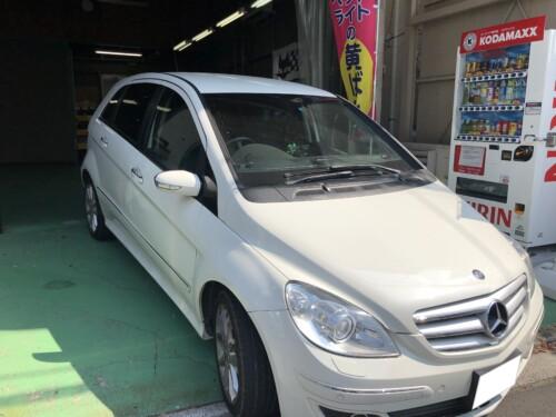 IMG 01331 1 - 【Bクラス】W245ハッキリと印象が変わる輸入車のヘッドライト磨き