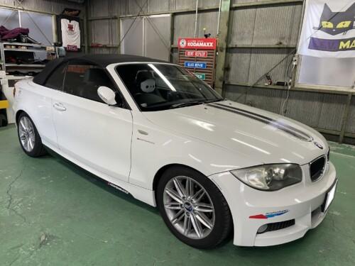 IMG 1496 1 - 【BMW】タイプの違う2台のE型だけどヘッドライトを磨いて黄ばみ除去